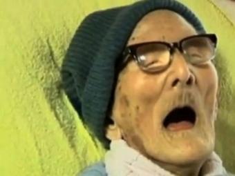 Japonês Kimura também é o mais velho ser humano - Foto: Reprodução | Youtube