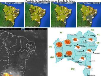 Previsão para o feriadão na Bahia - Foto: Divulgação | Inema
