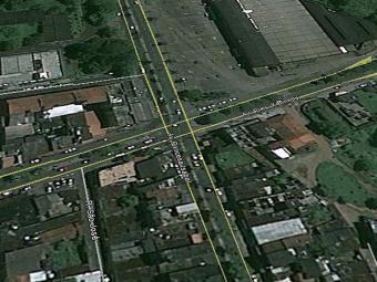 Mulher tentou vender a criança nesta esquina - Foto: Reprodução | Google Maps