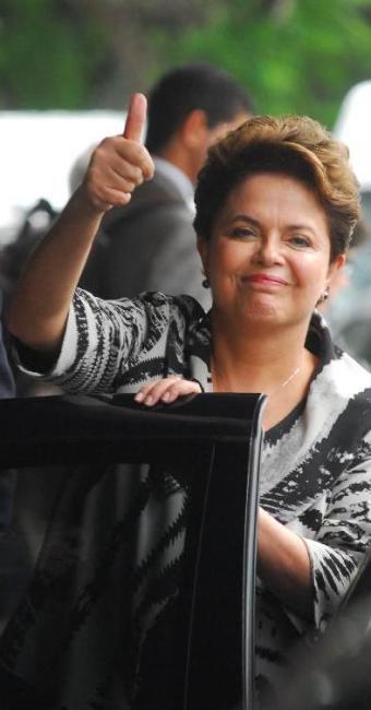 Sem considerar as escalas, a presidente fez 32 viagens nos dois primeiros anos de mandato - Foto: Agência Brasil