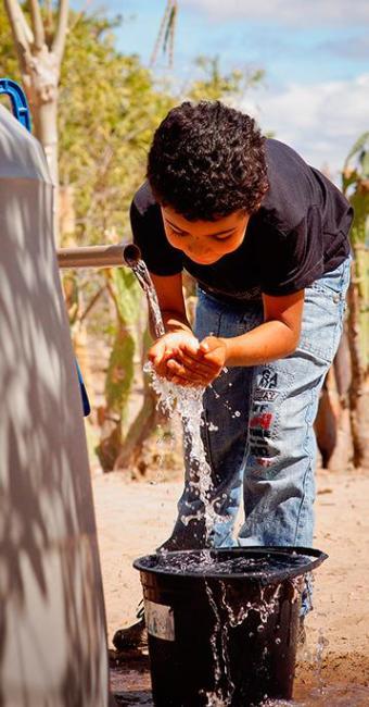 Com o devido cuidado, água pode ser usada para beber - Foto: Divulgação   MI