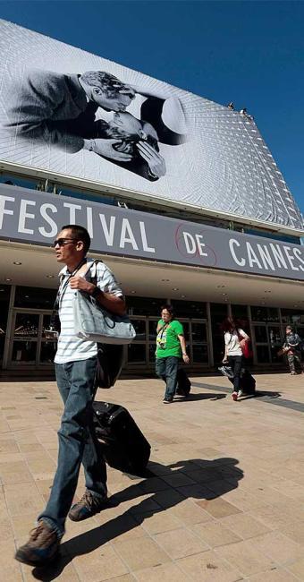 Cannes se prepara para estender o tapete vermelho dia 15 - Foto: Agência Reuters