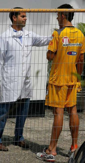 Acometido por uma virose, Gabriel Paulista é vetado e não encara o Salgueiro - Foto: Marco Aurélio Martins | Ag. A TARDE