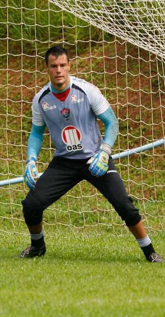 Com Deola poupado, Wilson ganha oportunidade no gol do Vitória no jogo contra o Salgueiro - Foto: Marco Aurélio Martins | Ag. A TARDE