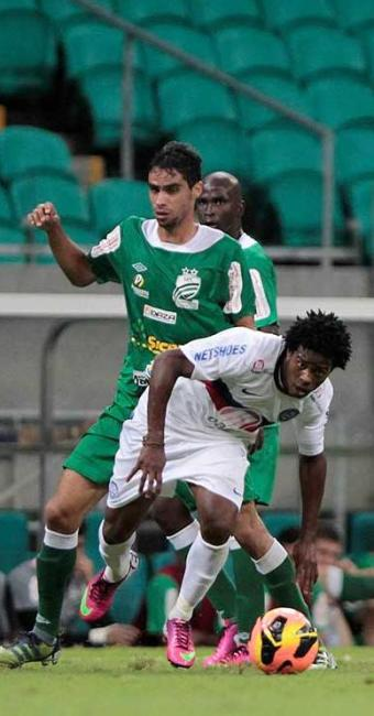 Tricolor sofre forte marcação do Luverdense e acaba eliminado na Copa do Brasil - Foto: Eduardo Martins | Ag. A TARDE