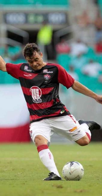 Com uma entorse leve no tornozelo, Renato Cajá tem chances de ir a campo contra o Inter - Foto: Eduardo Martins   Ag. A TARDE