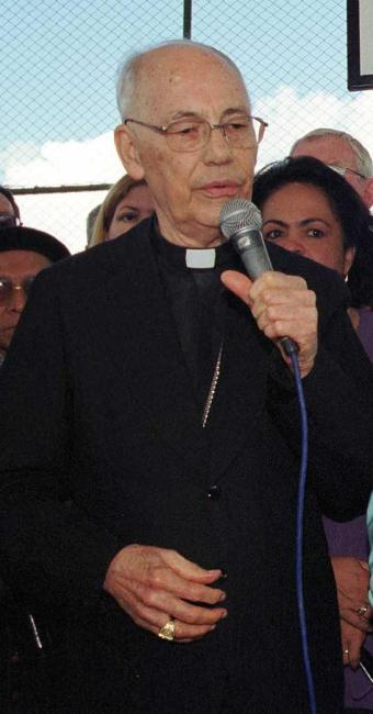 Dom Silvério (em foto de 2003) estava com 96 anos - Foto: Reginaldo Pereira   Arquivo   Ag. A TARDE