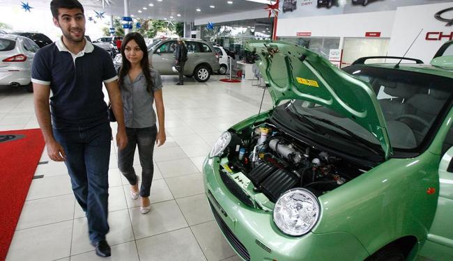 Autos e comerciais leves somaram 316.705 unidades em abril - Foto: Luciano da Mata | Ag. A TARDE