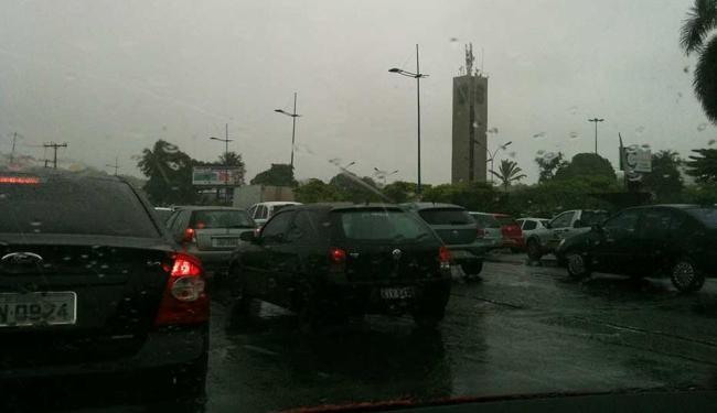 Trânsito segue lento na região da rodoviária - Foto: Iloma Sales | Ag. A TARDE