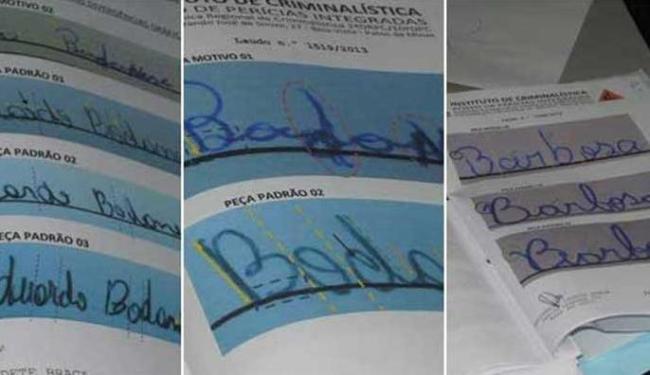 Exame grafotécnico apontou que as assinaturas da prova não batiam - Foto: Reprodução | Maurício Rocha/Patos Hoje