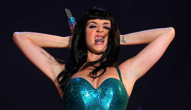 Katy Perry durante apresentação no Rock In Rio 2011 - Foto: Antonio Lacerda   EFE