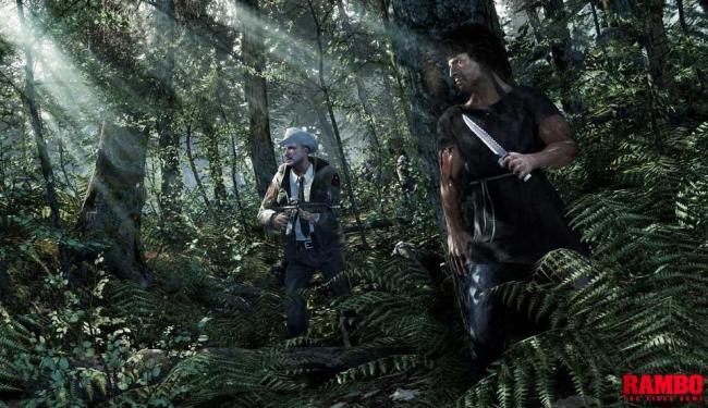 Personagem aparece de espreita à espera do inimigo com a inseparável faca - Foto: Divulgação