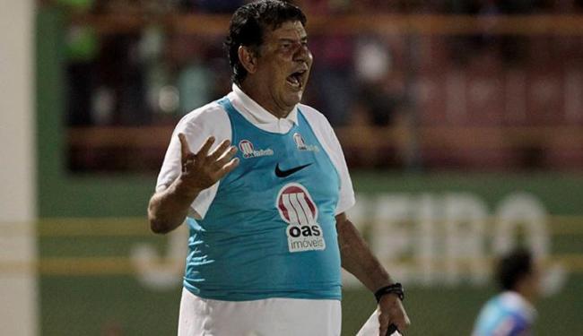 Joel fica em Salvador com o time titular se preparando para o primeiro jogo da final do Baianão - Foto: Eduardo Martins | Ag. A Tarde