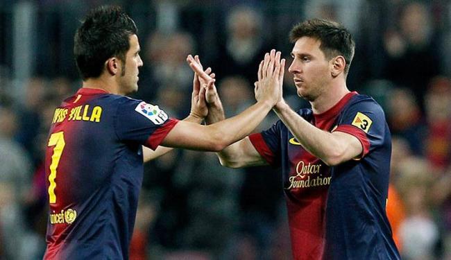 Agora o Barça pode ser campeão na quarta, sem entrar em campo, caso o Real tropesse contra o Málaga - Foto: Albert Olivé / Agência EFE