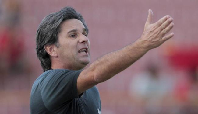 Para Caio Junior, desfalques fizeram falta na derrota para a Juazeirense - Foto: Eduardo Martins   Ag. A Tarde