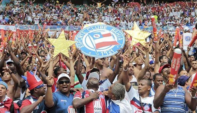 Primeiro jogo da final do campeonato baiano terá maioria do público do Bahia - Foto: Eduardo Martins | Ag. A Tarde