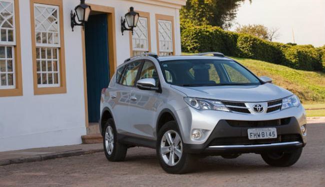 Toyota RAV4 tem visual totalmente renovado - Foto: Divulgação