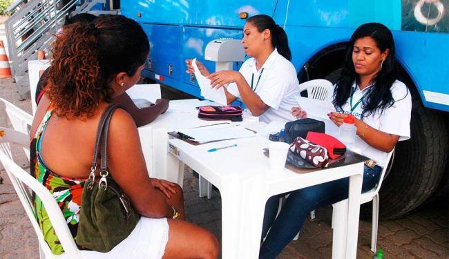 Coelba leva atendimento móvel a Fazenda Grande do Retiro - Foto: Ricardo Rabello | Agecom
