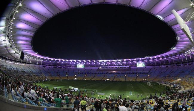 O Maracanã foi reaberto no final de abril, com utilização de apenas 30% da capacidade - Foto: Marcos de Paula | AE