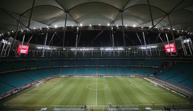 Disputa do 3º lugar e jogo entre Nigéria e Uruguai venderam poucos mais de 22 mil ingressos - Foto: Raul Spinassé / Ag. A TARDE