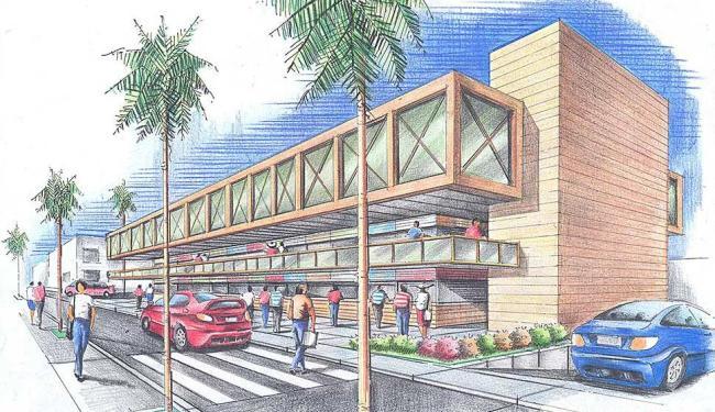 Novo Mercado Municipal ocupará uma área de 2.275 metros quadrados - Foto: Divulgação