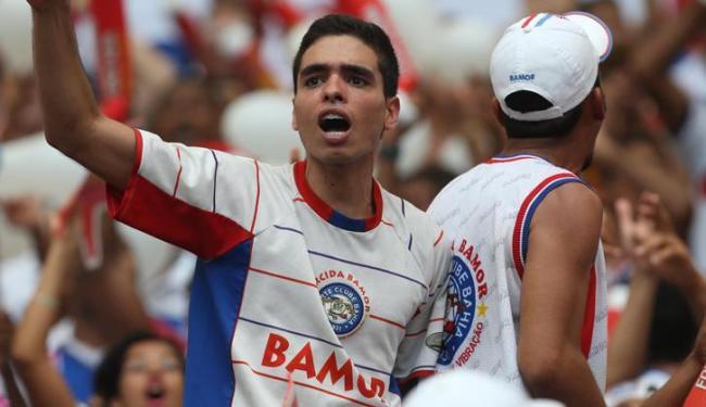 Torcedores com camisa de torcidas organizadas do Bahia não terão acesso pela entrada sul, no Dique - Foto: LUCIO TAVORA / AG. A TARDE