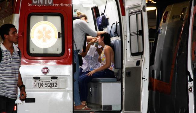 Gás vaza e causa transtornos no Campo da Pólvora - Foto: Joá Souza / Ag. A TARDE
