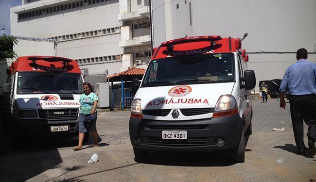 Vinte funcionários foram atendidos pelo Samu após novo vazamento - Foto: Lucas Cunha   Ag. A TARDE