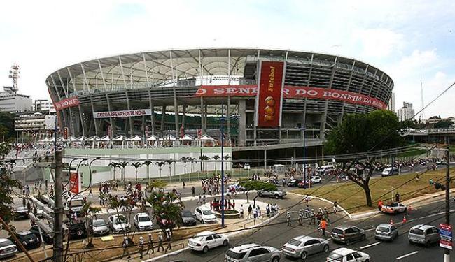 Objetivo é reduzir ao máximo congestionamentos no entorno do estádio de Salvador - Foto: Luciano da Matta   Ag. A TARDE