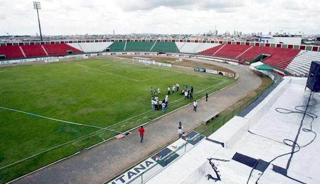 Estádio Jóia da Princesa, em Feira de Santana, será palco de dois jogos do Vitória e um do Bahia - Foto: Luiz Tito | Ag. A TARDE 30.01.2012