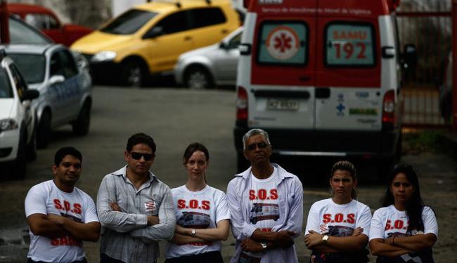 Sem entendimento com a prefeitura, médicos entram em greve nesta terça - Foto: Raul Spinassé | Ag. A TARDE
