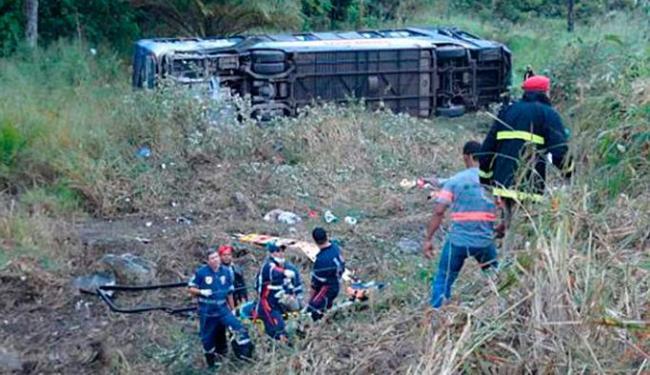 O número de mortos pode ser ainda maior, segundo a Polícia Rodoviária Federal - Foto: Reprodução | Site Liberdade News