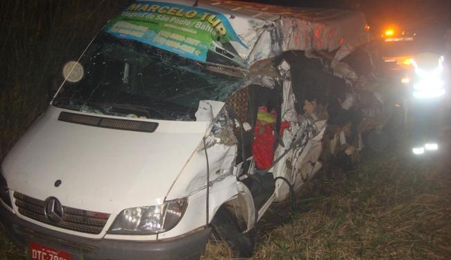 Sete pessoas ficaram gravemente feridas e outras quatro tiveram ferimentos leves - Foto: Reprodução   Site Jequié Urgente