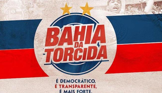 Campanha, que será lançada nesta sexta na Fonte Nova, quer a saída do atual presidente do clube - Foto: Divulgação