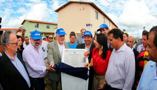 Unidades habitacionais foram resultado de investimento de mais de R$ 12 milhões - Foto: Manu Dias/GovBA