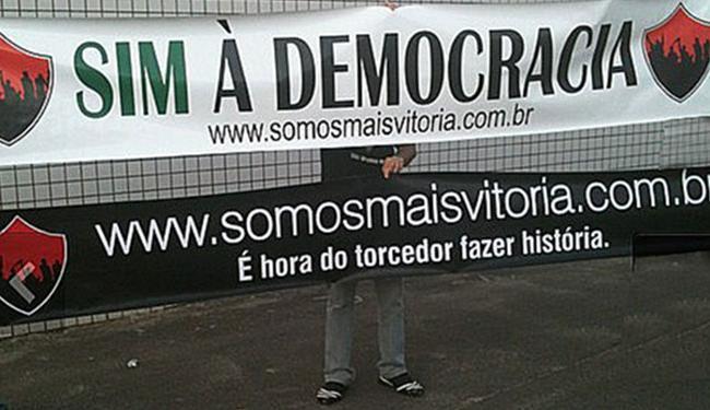 Torcedores do Vitória apoiam luta da torcida do Bahia - Foto: Reprodução | Ag. A TARDE