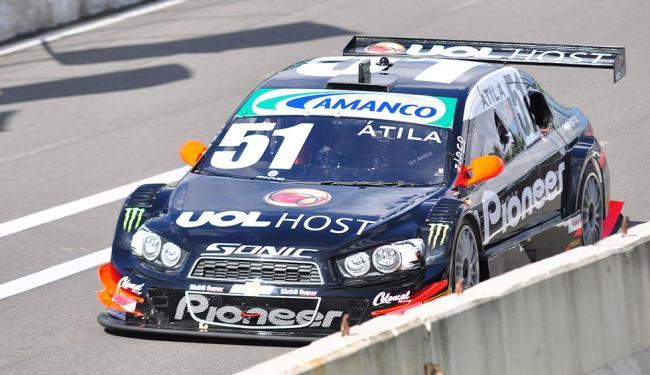 Átila Abreu é o pole no GP da Bahia - Foto: Mauro Akin Nassor | Fotoarena | Folhapress