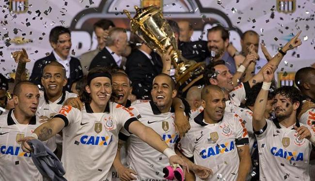 Após eliminação na Libertadores, Corinthians conquista o seu 27º título paulista - Foto: Sebastião Moreira / Agência EFE