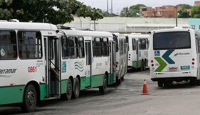 Na última quinta-feira, 16, os rodoviários realizaram uma paralisação relâmpago em Salvador - Foto: Marco Aurélio Martins | Ag. A TARDE