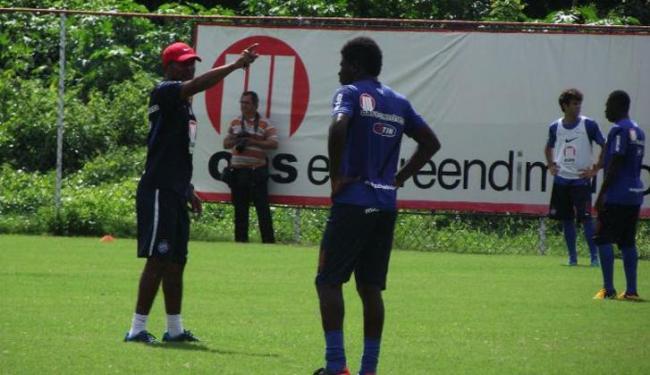 Esquema escolhido no primeiro treino é similar ao escolhido em 2012 por Jorginho - Foto: Esporte Clube Bahia / Divulgação