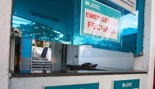Serviço de emergência do hospital permanece sem atendimento - Foto: Dorivan Marinho | Ag. A TARDE