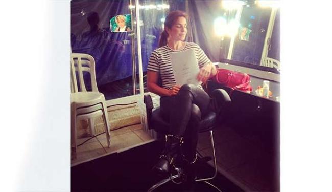 Detalhe estranho é a foto da apresentadora Ana Maria Braga no vidro - Foto: Reprodução | Instagram