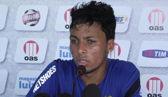 Ítalo Melo deve ganhar sua primeira chance como titular contra o Criciúma no domingo - Foto: Esporte Clube Bahia / Divulgação