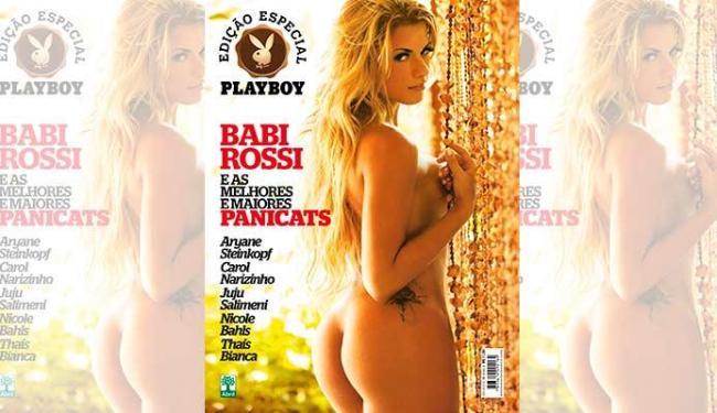 Babi Rossi estrela a capa da edição especial - Foto: Divulgação   Playboy