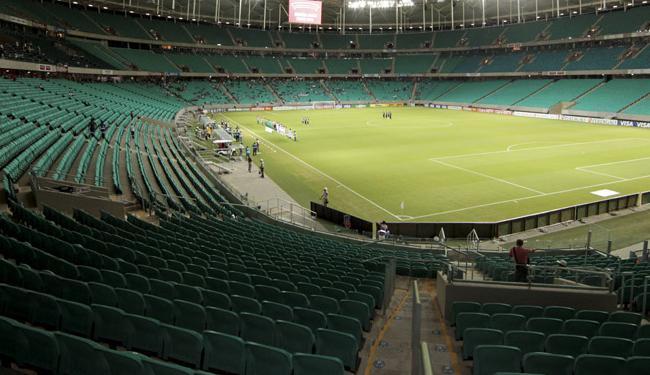 Jogo entre Vitória e Inter neste sábado, 25, terá o ingresso mais barato por R$ 70 (inteira) - Foto: Eduardo Martins | Ag. A Tarde