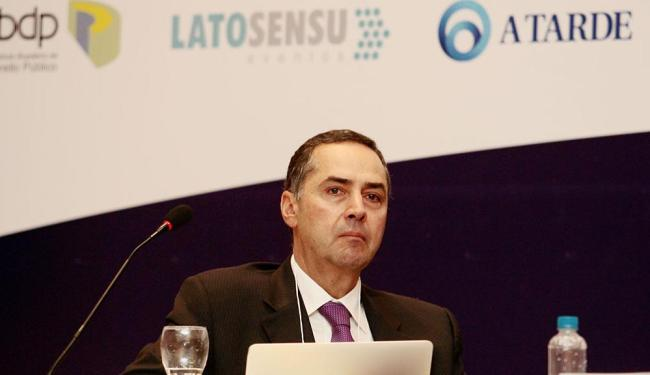 Ministro Luis Roberto Barroso fez palestra no Congresso de Direito Constitucional - Foto: Mila Cordeiro   Ag. A TARDE
