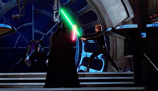 A luta final entre Darth Vader e Lucas Skywalker revela surpresas - Foto: Divulgação