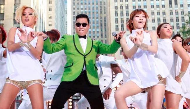 O verdadeiro Psy está em um evento em Cingapura, enquanto o impostor aproveita o Festival de Cannes - Foto: Agência Reuters