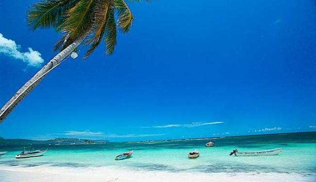 Belas praias estão entre os pontos turísticos da República Dominicana - Foto: Divulgação