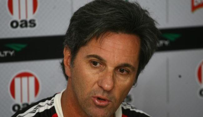 Caio Jr. classifica como 'desumano' o desgaste que os jogadores do Vitória vem passando - Foto: Fernando Amorim/ AG. A TARDE